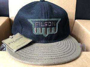 Filson Ebbets Field Flannels Shield Wool Cap