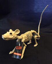 "Small Rat Skeleton Decor - 8"" long 10"" tail - Realistic CREEPY! HALLOWEEN - NWT"