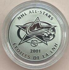 2001 ~ NHL ALL-STARS - ÉTOILES DE LA LNH ~ MEDALLIONS - MÉDAILLONS