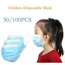 Kids Face Masks Protective Children Outdoor Mask Air Purifying Mask 25/50/100PCS