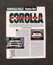 [GCG] AP15 - Clipping-Ritaglio -1997- MONDIALE RALLY , TOYOTA TEAM EUROPE WRC
