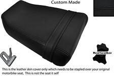 BLACK STITCH CUSTOM FITS SUZUKI GSXR GK73A 400 CC REAR LEATHER SEAT COVER