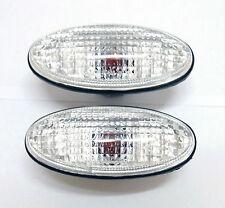 CLEAR SIDE TURN SIGNAL BLINKER INDICATOR LIGHTS FOR NISSAN NAVARA D22 D23 UTE 98