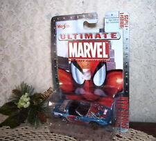 MAISTO SPIDERMAN CHEVROLET CORVETTE ZR-1 2002 MARVEL