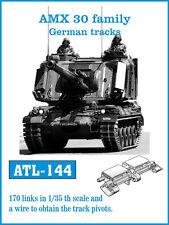 1/35 FRIULMODEL ATL-144 METAL WORKABLE TRACK  for AMX 30 FAMILY GERMAN TRACKS