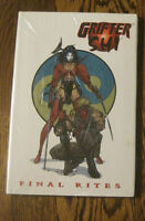 GRIFTER SHI Final Rites HC SIGNED Billy Tucci Edition GN NM+