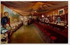 Deadwood Sd Pinball Machine Buffalo Bar Restaurant Juke Box Postcard
