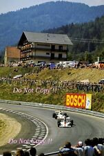 Graham Hill Embassy Racing Shadow DN1 Austrian Grand Prix 1973 Photograph