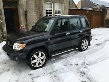 Mitsubishi  Shogun Pinin 2.0 4x4. MOT October 18 *relisted due to time waster*
