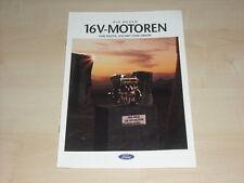 51518) Ford Fiesta Escort Orion 16V Prospekt 03/1992