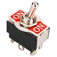 Leistungsschalter, Kippschalter, ON-ON, Schalter, 6 Kontakte, 2 Schließer