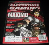 Vintage EGM Electronic Gaming Monthly Video Game Magazine NES PS 2002 issue 152