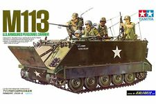 Tamiya 35040 Maquette 1/35  M113 U.S. Armoured Personnel Carrier