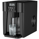 2 In 1 Ice Maker Water Dispenser Countertop 36 Lbs/24H LCD Display Portable Home photo