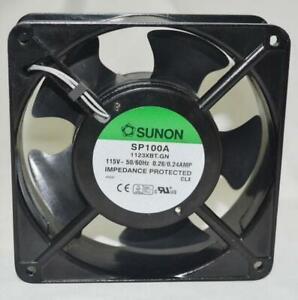 SUNON SP100A 1123XBT.GN 12038 AC 115V 120V 120*120*38MM cabinet Cooling fan