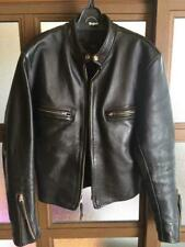 BUCO Authentic Horsehide Leather Single Riders Jacket Size 40 Used