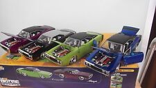 Jada toys BIGTIME muscle 4 1970  charger 1/24 some cars have smallspot humility