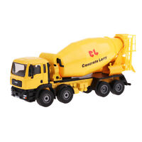 1/50 Diecast Vehicle Model Mini Agitating Lorry Car Cement Mixer Truck Gift