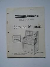 Seeburg mod  S100/S100-5 S100-H5  Service Manual ORIGINAL from master books..
