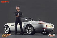 1/18 James Bond 007 Pierce Brosnan VERY RARE!!! figures for 1:18 Autoart CMC