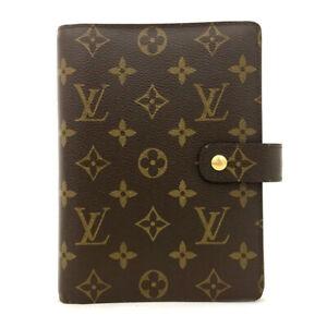 100% Authentic Louis Vuitton Monogram Agenda MM Notebook Cover /71060