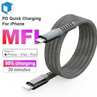 MFI USB-C Type-C to Lightning Cable PD Fast Charging Charger Cord fit for iPhone