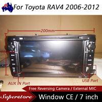 "7"" Car DVD GPS Navigation stereo player head unit For Toyota RAV4 2006-2012"