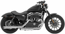 Cobra HD Harley Davidson 3-inch Slip-on Exhaust Mufflers Chrome 6030 63-1015