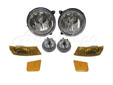 FOR 2005-2007 JEEP LIBERTY PARK SIDE MARKER LIGHT FOG LIGHT HEADLIGHT 8PCS