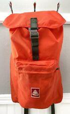 Vintage Jansport Backpack Skip Yowell Signature Orange Medium Daypack Old Logo