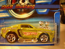 Hot Wheels 1968 Mustang #128 Green El Segundo Shaker