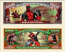 Deadpool - Marvel Comics Character  Million Dollar Novelty Money