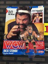 Vintage WCW WWE 1990 RICK STEINER Galoob Series 1 New in Package Very Rare