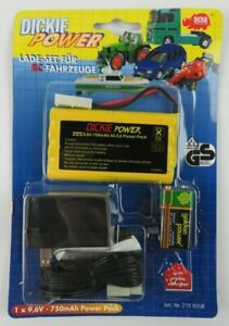Dickie Power Spielzeug 9.6v - 750mAh Ni-Cd R/C Power Pack & Charger NEW