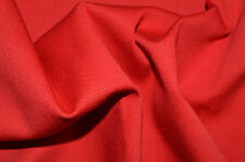 """RED SOLID COLOUR STRETCH COTTON ELASTANE TWILL 55"""" WIDTH BY THE METRE"""