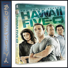 HAWAII FIVE-O - COMPLETE SEREIS SEASON 4  **BRAND NEW DVD**