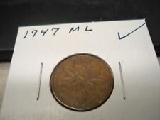 1947 ML - Canada - one cent - Canadian penny