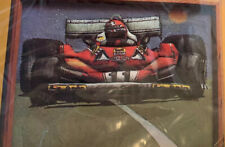 New listing Creative Circle Formula 1 Quilted Race Car Embroidery Kit # 1702 12x16