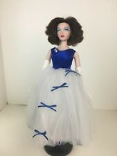 Holiday Magic Very rare white & blue short gown  No doll Gene Madra Tonner