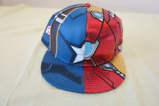 New Era 59Fifty 5950 Armor Iron Man Captain America Civil War baseball Hat Cap