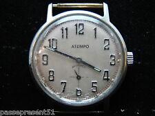 Jolie ancienne montre, mécanique, Atempo