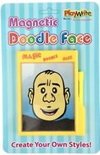 Magnetic Doodle Face - 385-162 Funny Novel Wooly Iron Draw Create Your Own Face