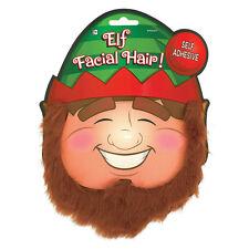 Christmas Santa Claus Elf Facial Hair Fancy Dress Party Costume Accessory Beard