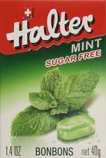 Halter Bonbons Mint Bonbons Sugar Free 40g