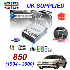 For VOLVO 850 MP3 SD USB CD AUX Input Audio Digital CD Changer Module SC