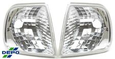 fit 1996-APRIL 1997 Early Ford F150 Clear Corner Signal Park Lights Pair DEPO