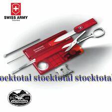 Victorinox Swiss-Card Lite Roja Translucida con luz SWISS MADE one .