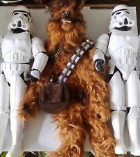Star Wars 12 inch Luke & Han Stormtrooper disguise & Chewbacca 1/6