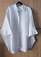 ❄Marina Rinaldi by MAX MARA Cotton Blouse PLUS size 29 _USA 20W_ I 58_D 50_GB 24