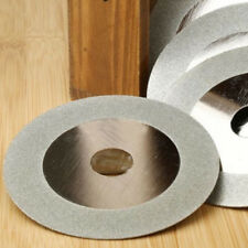 """4"""" 100mm Diamond Coated Disc Sanding Wheel for Grinder Cutter Glass Saw Blade"""